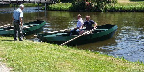 Huur een roeiboot met familie en vrienden en geniet van recreatiepark de Kienehoef